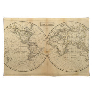 The World 2 Placemat