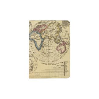 The World 3 2 Passport Holder