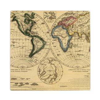 The World 3 2 Wood Coaster