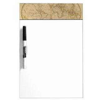 The World 3 Dry Erase Board