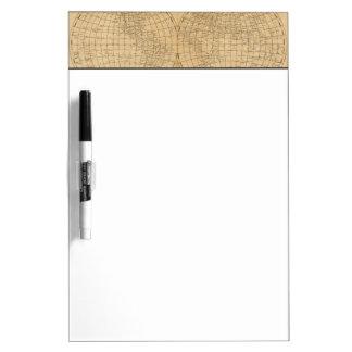 The World 4 Dry Erase Board