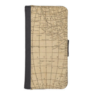 The World 4 iPhone SE/5/5s Wallet Case