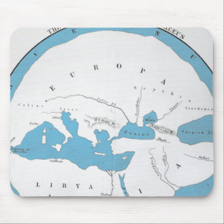 The world according to Hecataeus Mouse Pad