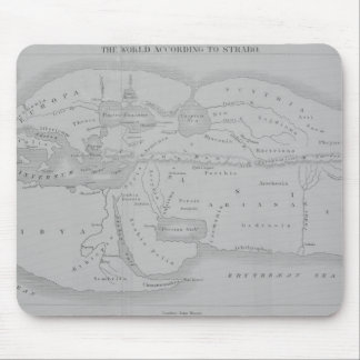 The World According to Strabo Mouse Mat