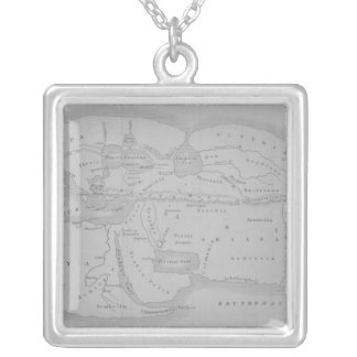The World According to Strabo Silver Plated Necklace