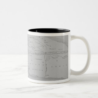 The World According to Strabo Two-Tone Coffee Mug