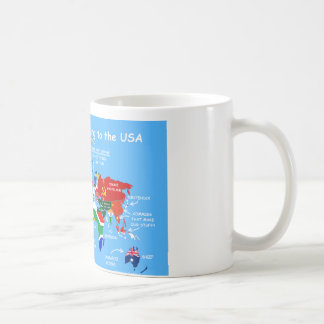 The World According to the USA Coffee Mug