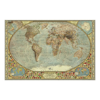 The World - Decorative Posters