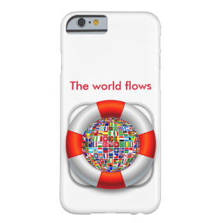The world flows barely there iPhone 6 case