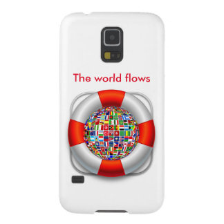 The world flows galaxy s5 cases