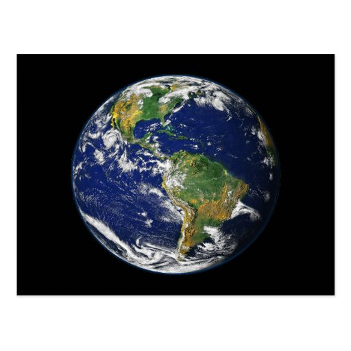 The World From Space Post Cards