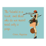 The World is a book Post Cards