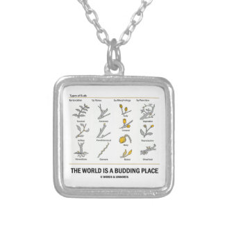 The World Is A Budding Place (Types Of Buds) Pendant