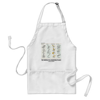 The World Is A Budding Place (Types Of Buds) Standard Apron