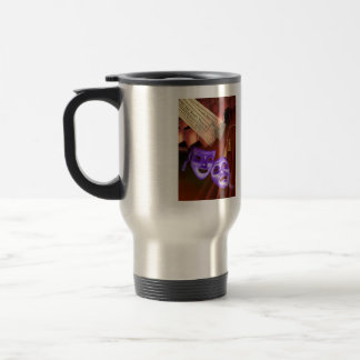 The world is a stage. God is the audience. . . Stainless Steel Travel Mug