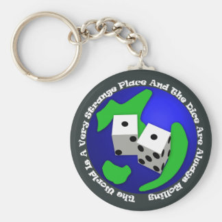 The World Is A Very Strange Place Keychain
