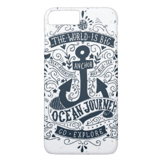 The World Is Big - Go Explore iPhone 8 Plus/7 Plus Case