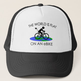 """The world is flat"" cycling caps"