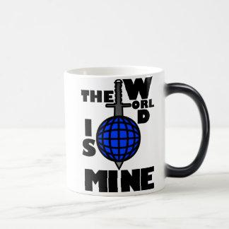 THE_WORLD_IS_MINE COFFEE MUG
