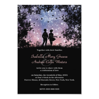 The World Is Ours - Borealis Version - Wedding 13 Cm X 18 Cm Invitation Card