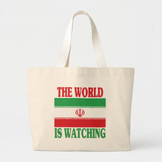The World Is Watching Iran Bags