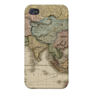 The World on Mercator's projection, eastern part Covers For iPhone 4