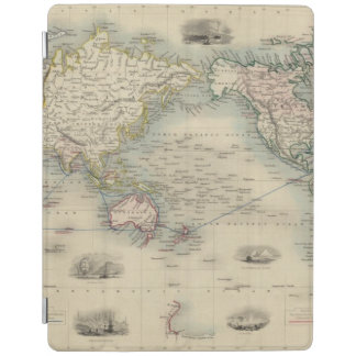 The World On Mercator's Projection iPad Cover