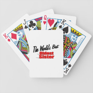 The World s Best Oldest Sister Deck Of Cards