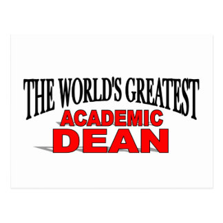 The World s Greatest Academic Dean Post Card