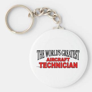 The World s Greatest Aircraft Technician Key Chain