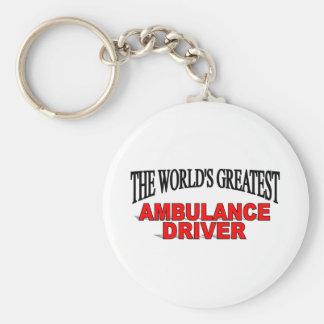The World s Greatest Ambulance Driver Key Chains
