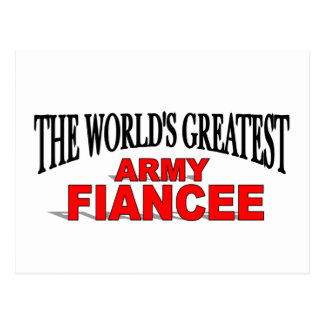 The World s Greatest Army Fiancee Post Cards