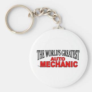 The World s Greatest Auto Mechanic Key Chain