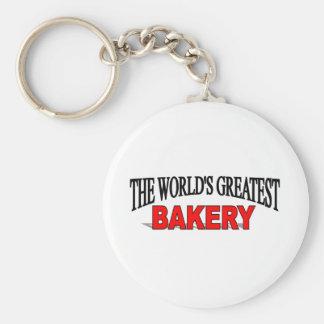 The World s Greatest Bakery Keychain