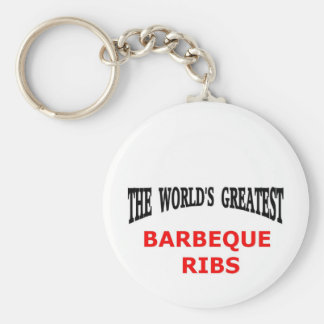 The world s greatest barbeque ribs key chains
