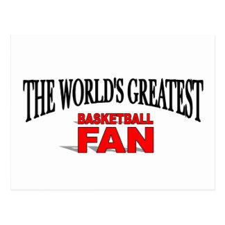 The World s Greatest Basketball Fan Post Card