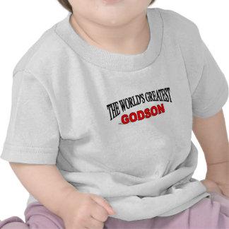 The World s Greatest Godson Tshirts