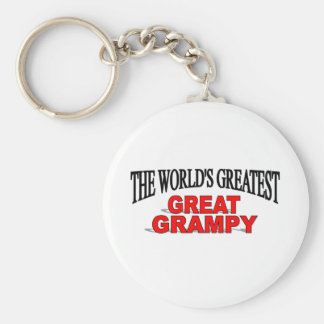 The World s Greatest Great Grampy Key Chain