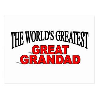 The World s Greatest Great Grandad Postcards