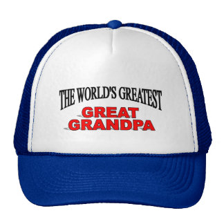 The World s Greatest Great Grandpa Mesh Hats