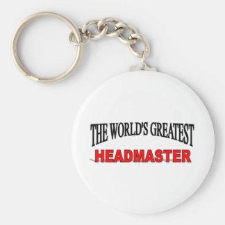 The World s Greatest Headmaster Keychain