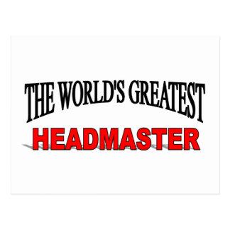 The World s Greatest Headmaster Post Cards