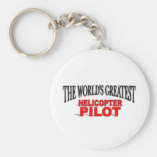The World s Greatest Helicopter Pilot Keychains