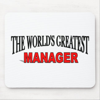 The World s Greatest Manager Mouse Mat