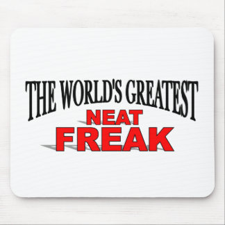 The World s Greatest Neat Freak Mouse Mat