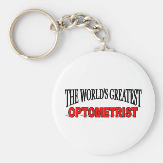 The World s Greatest Optometrist Key Chain