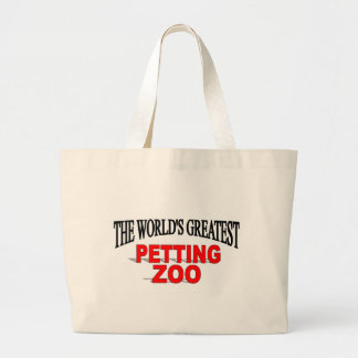 The World s Greatest Petting Zoo Canvas Bags