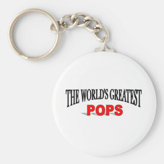 The World s Greatest Pops Keychain