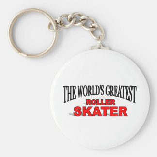 The World s Greatest Roller Skater Keychains