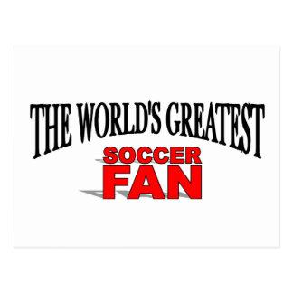 The World s Greatest Soccer Fan Postcard